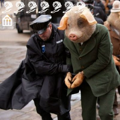The Guardian 'Three Little Pigs'